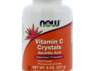 Vitamin C Crystals, 8 oz (227 g) (Now Foods)