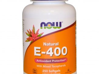 Natural E-400 With Mixed Tocopherols, 250 Softgels (Now Foods)