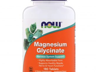 Magnesium Glycinate, 180 Tablets (Now Foods)