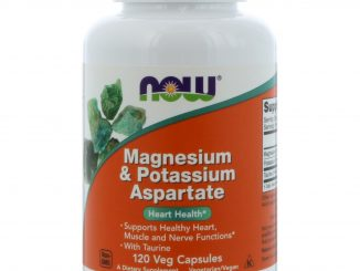 Magnesium & Potassium Aspartate, 120 Capsules (Now Foods)