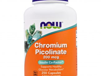 Chromium Picolinate, 200 mcg, 250 Capsules (Now Foods)