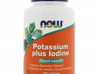 Potassium Plus Iodine, 180 Tablets (Now Foods)