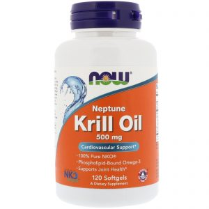 Neptune Krill Oil, 500 mg, 120 Softgels (Now Foods)