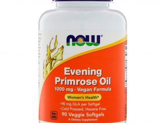 Evening Primrose Oil, 1000 mg, 90 Veggie Softgels (Now Foods)