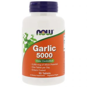 Garlic 5000, 90 Tablets (Now Foods)