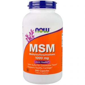 MSM, 1000 mg, 240 Capsules (Now Foods)