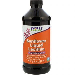 Sunflower Liquid Lecithin, 16 fl oz (473 ml) (Now Foods)