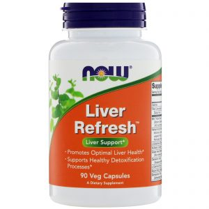 Liver Refresh, 90 Veg Capsules (Now Foods)
