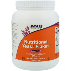 Nutritional Yeast Flakes, 10 oz (284 g) (Now Foods)