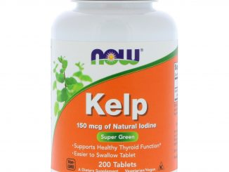 Kelp, 150 mcg, 200 Tablets (Now Foods)