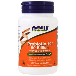 Probiotic-10, 50 Billion, 50 Veg Capsules (Now Foods)