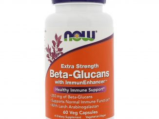 Beta-Glucans, with ImmunEnhancer, Extra Strength, 250 mg, 60 Veg Capsules (Now Foods)