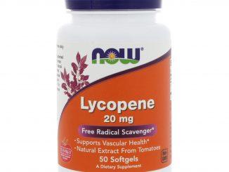 Lycopene, 20 mg, 50 Softgels (Now Foods)