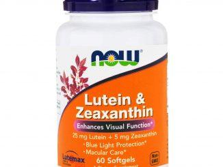 Lutein & Zeaxanthin, 60 Softgels (Now Foods)