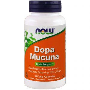 Dopa Mucuna, 90 Veg Capsules (Now Foods)