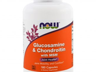 Glucosamine & Chondroitin with MSM, 180 Capsules (Now Foods)