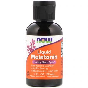 Liquid Melatonin, 2 fl oz (59 ml) (Now Foods)