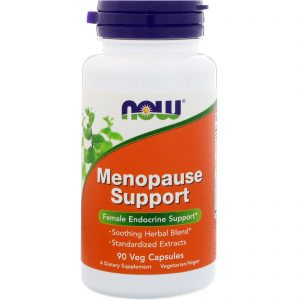 Menopause Support, 90 Veg Capsules (Now Foods)
