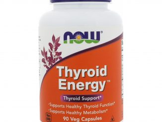 Thyroid Energy, 90 Veg Capsules (Now Foods)