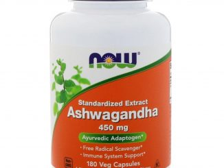 Ashwagandha, 450 mg, 180 Veg Capsules (Now Foods)