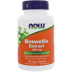 Boswellia Extract, 250 mg, 120 Veg Capsules (Now Foods)