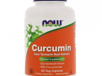 Curcumin, 60 Veg Capsules (Now Foods)