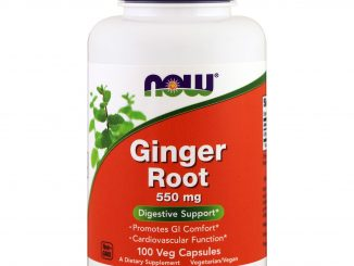Ginger Root, 550 mg, 100 Veg Capsules (Now Foods)