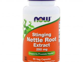 Stinging Nettle Root Extract, 250 mg, 90 Veg Capsules (Now Foods)
