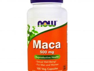 Maca, 500 mg, 100 Veg Capsules (Now Foods)