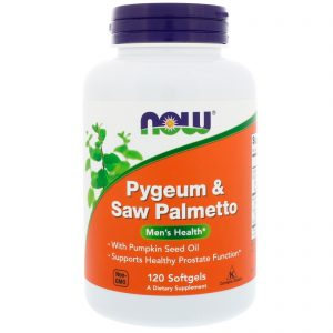 Pygeum & Saw Palmetto, 120 Softgels (Now Foods)