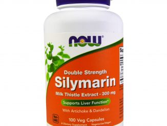Silymarin, Milk Thistle Extract with Artichoke & Dandelion, Double Strength, 300 mg, 100 Veg Capsules (Now Foods)