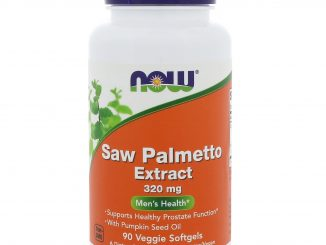 Saw Palmetto Extract, 320 mg, 90 Veggie Softgels (Now Foods)