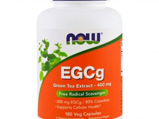 EGCg, Green Tea Extract, 400 mg, 180 Veg Capsules (Now Foods)