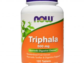 Triphala (Triphala), 500 mg, 120 Tablets (Now Foods)