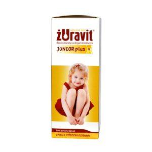 Żuravit Junior plus, płyn, 100 ml / (Herbapol Lublin)