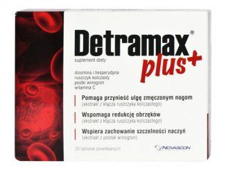 Detramax Plus, tabletki powlekane, 30 szt. / (Novascon Pharmaceuticals)