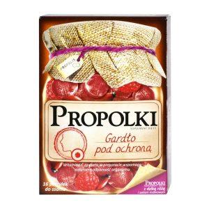 Propolki, pastylki do ssania, dzika róża i sok malinowy, 16 szt. / (Sanofi)
