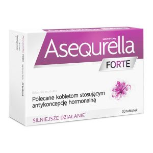 Asequrella Forte, tabletki, 20 szt. / (Aflofarm)