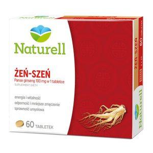 Naturell Żeń-szeń, tabletki, 60 szt. / (Naturell)