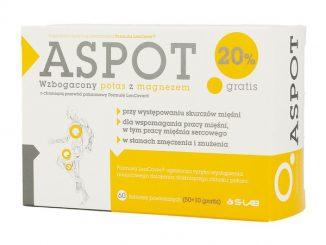 Aspot, tabletki powlekane, 60 szt. (50 szt. + 10 szt.) / (S-lab)
