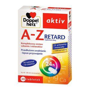Doppelherz aktiv A-Z Retard, tabletki, 40 szt. / (Queisser)