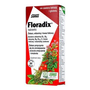 Floradix, tabletki, 84 szt. / (Salus-haus)