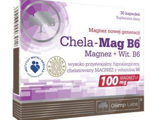 Olimp Chela-Mag B6, kapsułki, 30 szt. / (Olimp Laboratories)