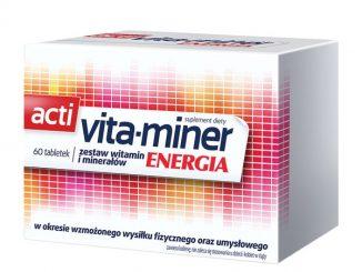 Acti Vita-miner Energia (Vita miner Energia), tabletki, 60 szt. / (Aflofarm)