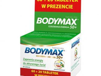 Bodymax 50+, tabletki, 60 szt. + 20 szt. GRATIS / (Orkla Care)