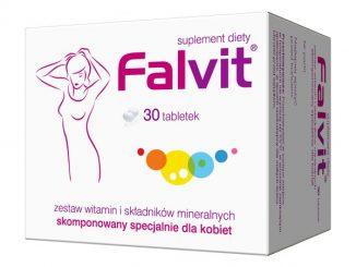 Falvit, tabletki drażowane, 30 szt. / (Jelfa)