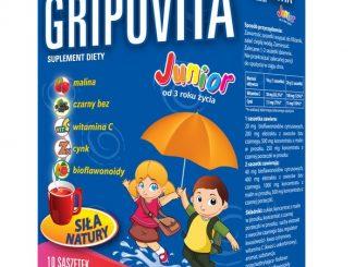 Gripovita Junior, proszek w saszetkach, 10 szt. / (Natur Produkt Zdrovit)