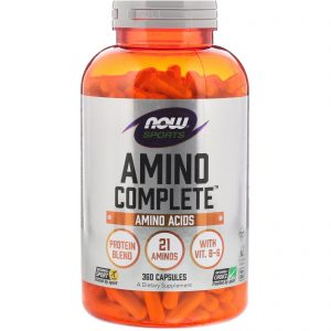Sports, Amino Complete, 360 Capsules (Now Foods)