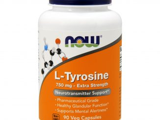 L-Tyrosine, Extra Strength, 750 mg, 90 Veg Capsules (Now Foods)