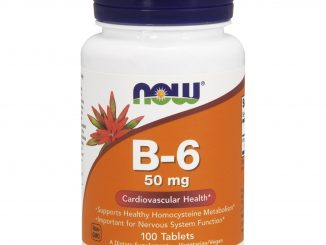 B-6, 50 mg, 100 Tablets (Now Foods)